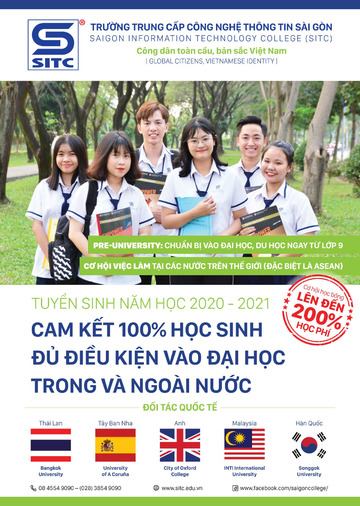 Tải bộ hồ sơ đăng ký tuyển sinh của trường SITC