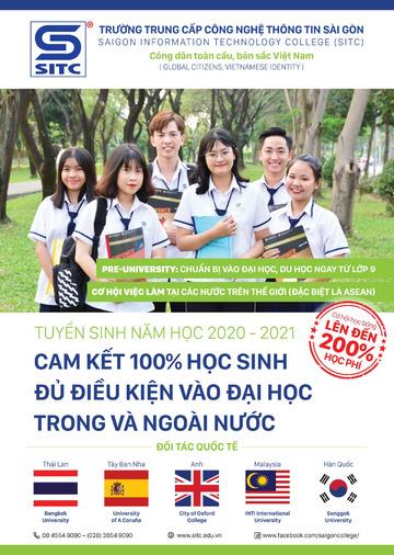 Tải thông tin cơ hội chuyển tiếp Đại học và du học cùng SITC
